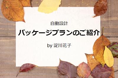 自動設計パッケージプランのご紹介 by 淀川花子